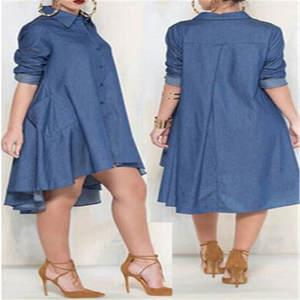 a41099cd218 hirigin Autumn Casual Lady Women Long Sleeved Midi Dress