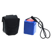 12V 15000mAh 18650 Battery Pack DC 3.5*1.35mm 9x18650 rechargeable li ion battery pack with bag for bike lights / other device