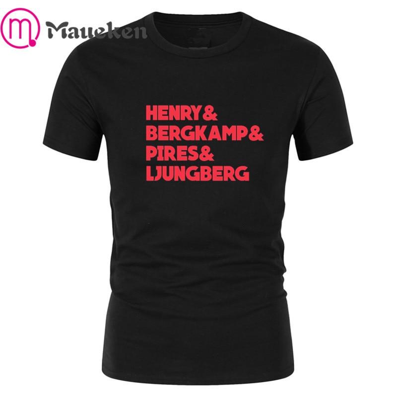 Dennis Bergkamp #10 Holland T-Shirt Arsenal Legend tshirt Netherlands Bergkamp