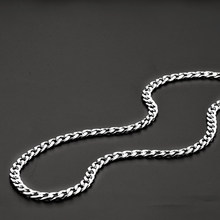 Wholesale stainless steel 8MM 1:1NK Figaro chain necklace Necklace Fashion punk men's jewelry Brother gift drop shipping(China)