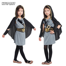 Halloween Costume Pirate Girls knight Forest Hunter costume PeteNew Crusader s Child' anime Cosplay fantasia fancy dress