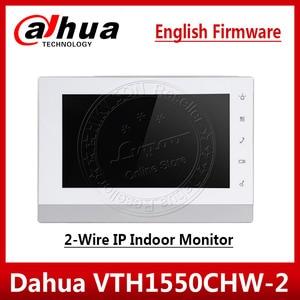 """Image 1 - Монитор Dahua VTH1550CHW 2, 2 проводной IP монитор для помещения, 7 """"TFT емкостный сенсорный экран, видеодомофон, обновленная версия от VTH1550CH"""