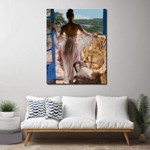 European Beauty Drawing Canvas Painting Pictures By Numbers  For Living Room Decoration Wall Art Oil Painting Picture Posters