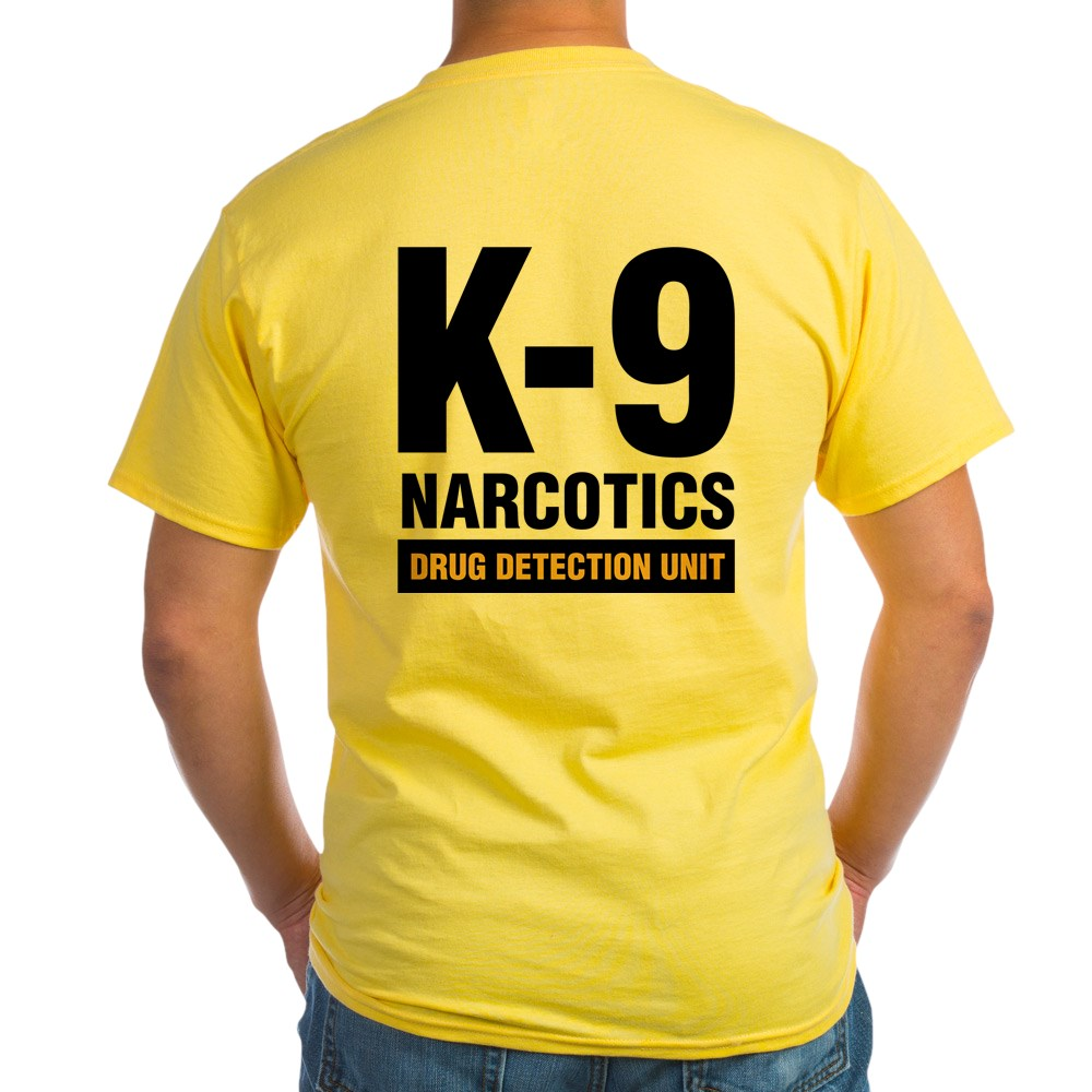 0d27c8c86a60 Summer 2018 100% Cotton Print Summer O Neck Cafepress K 9 Dog Handler T  Shirt Drug Detection Light Casual T Shirts-in T-Shirts from Men s Clothing  on ...
