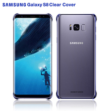 SAMSUNG Original Stealth Plastic Mobile Phone Cover for Samsung S8 G9500 S8+ S8 Plus Shockproof Phone Case Soft Shell 6 Colors original samsung phone case soft shell for sansung galaxy s9 plus g9650 s9 g9600 stealth tpu mobile phone cover