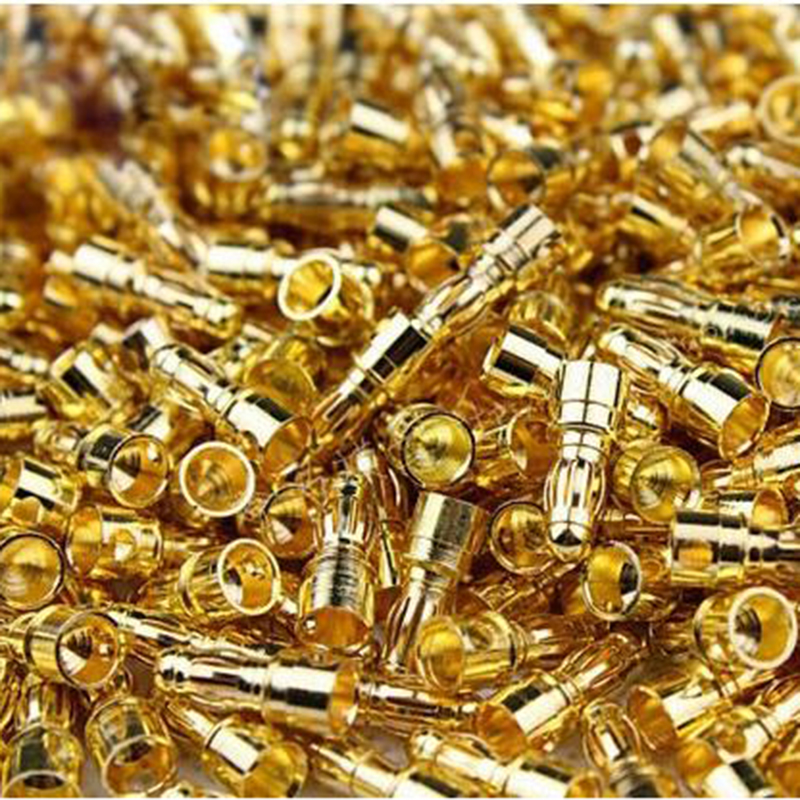 100 pcs(50 pairs) Gold Bullet Banana Connector Plug 3.5mm For Multicopter Quadcopter Motor ESC Lipo Battery Connecting Par Drone 1s 2s 3s 4s 5s 6s 7s 8s lipo battery balance connector for rc model battery esc