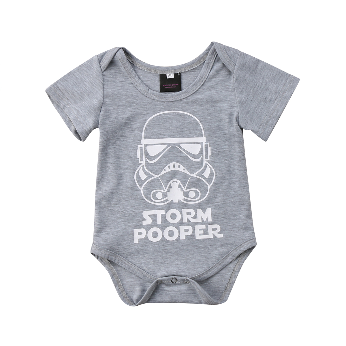 Infant Newborn Baby Boy Girl Cartoon Funny Short Sleeve   Romper   Clothes Outfit Baby Clothing