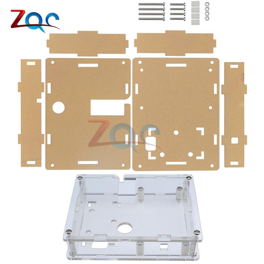 Klar Acryl Fall Shell Gehäuse Für LCR-T4 M328 Transistor Tester Kapazität ESR Mega328