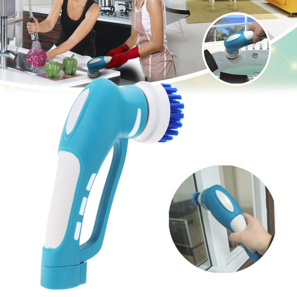 Electric Scrubber Kitchen Washing Cleaner Machine Oil Stain Cleaning ...