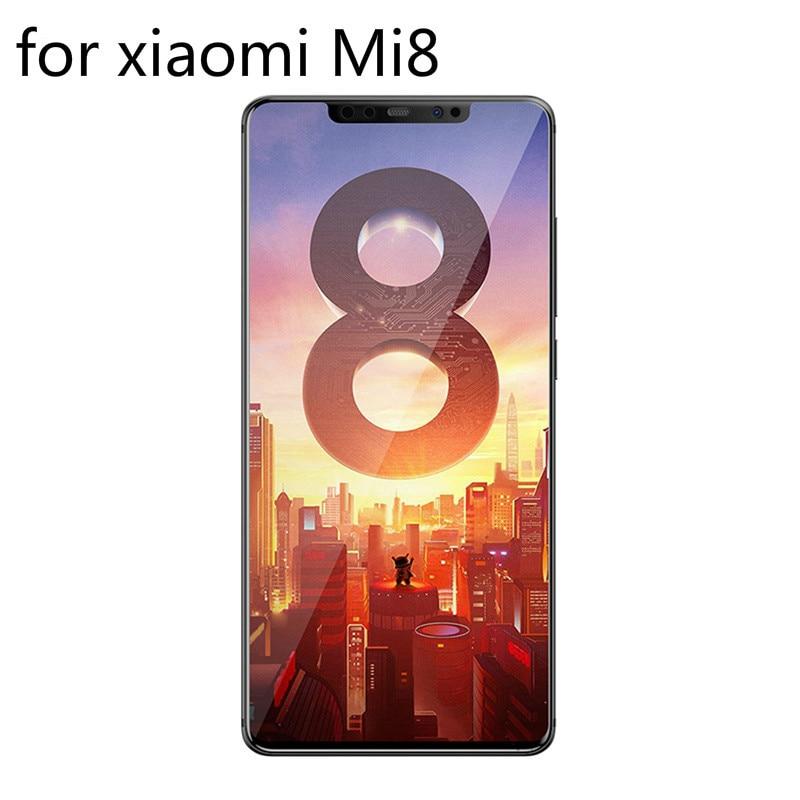 """0.3mm Gehard Glas Voor Xiao Mi Mi 8 Xiao Mi 8 9 H Hard Screen Protector Explosie Bescherming 2.5d Film Case Op Mi 8 6.21 """"glas Zorgvuldige Verfprocessen"""