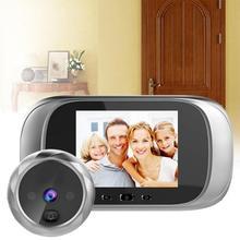 DD1 HD дверной зритель с длительным временем ожидания видеодомофон инфракрасный датчик движения камера ночного видения дверной звонок домашняя камера безопасности