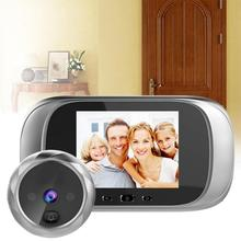 DD1 HD WiFi Door Viewer Long Standby Video Intercom Infrared Motion Sensor Night Vision Camera Door Bell Home Security Camera(China)