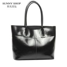 Sunny shop lujo mujeres de los bolsos diseñador americano mujeres naturaleza bolsa de piel bolso de las mujeres bolsos de cuero de vaca real