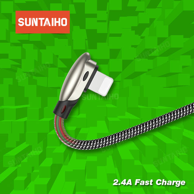 Suntaiho for iphone Charger Cable Game USB Cable for Lighting Fast Charging  for iPhone 7 Xs Max XR X 6 6s 5 8 7 phone Game Cord
