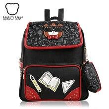 Новый колледж Ветер женщин рюкзак высокое качество школьные сумки для девочки-подростка Женская дорожная сумка