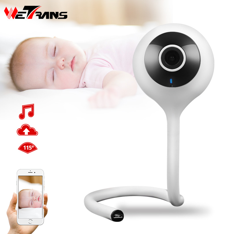 Wetrans IP WiFi Camera Baby Monitor HD 720P Full Wide Angle Wireless Mini Camera Wi Fi