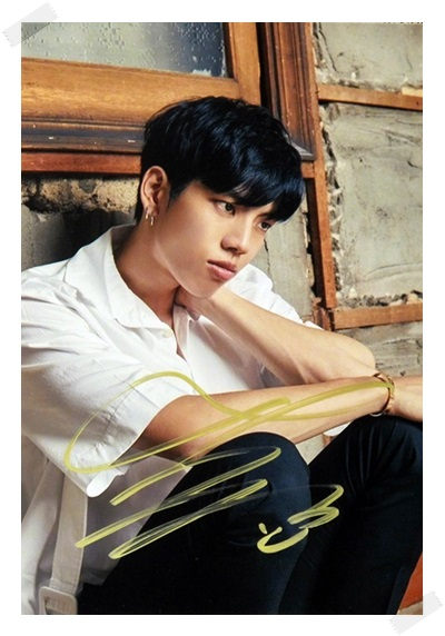 signed  INFINITE Jang DongWoo Dong Woo autographed  photo K-POP 6 inches free shipping 102017 гостиная jang