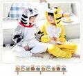 2015 New Halloween Baby Kids animal Pajamas onesie girls boys Cosplay Costume onesie Children's Pyjamas Sleepwear Jumpsuit
