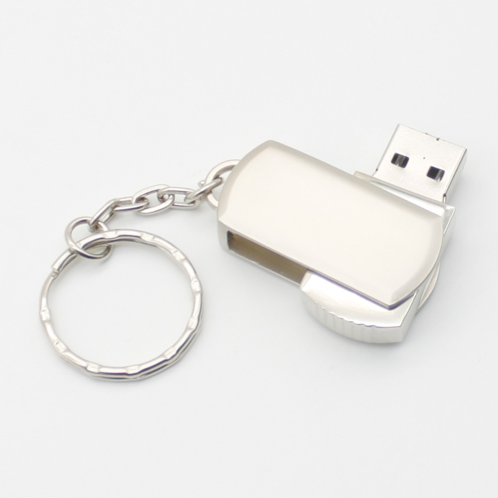 USB flash drive Luxury Metal USB stick 4G flash drive 8G cute fashion flash usb 16G 64gb usb 2.0 32G pendrive with Chain