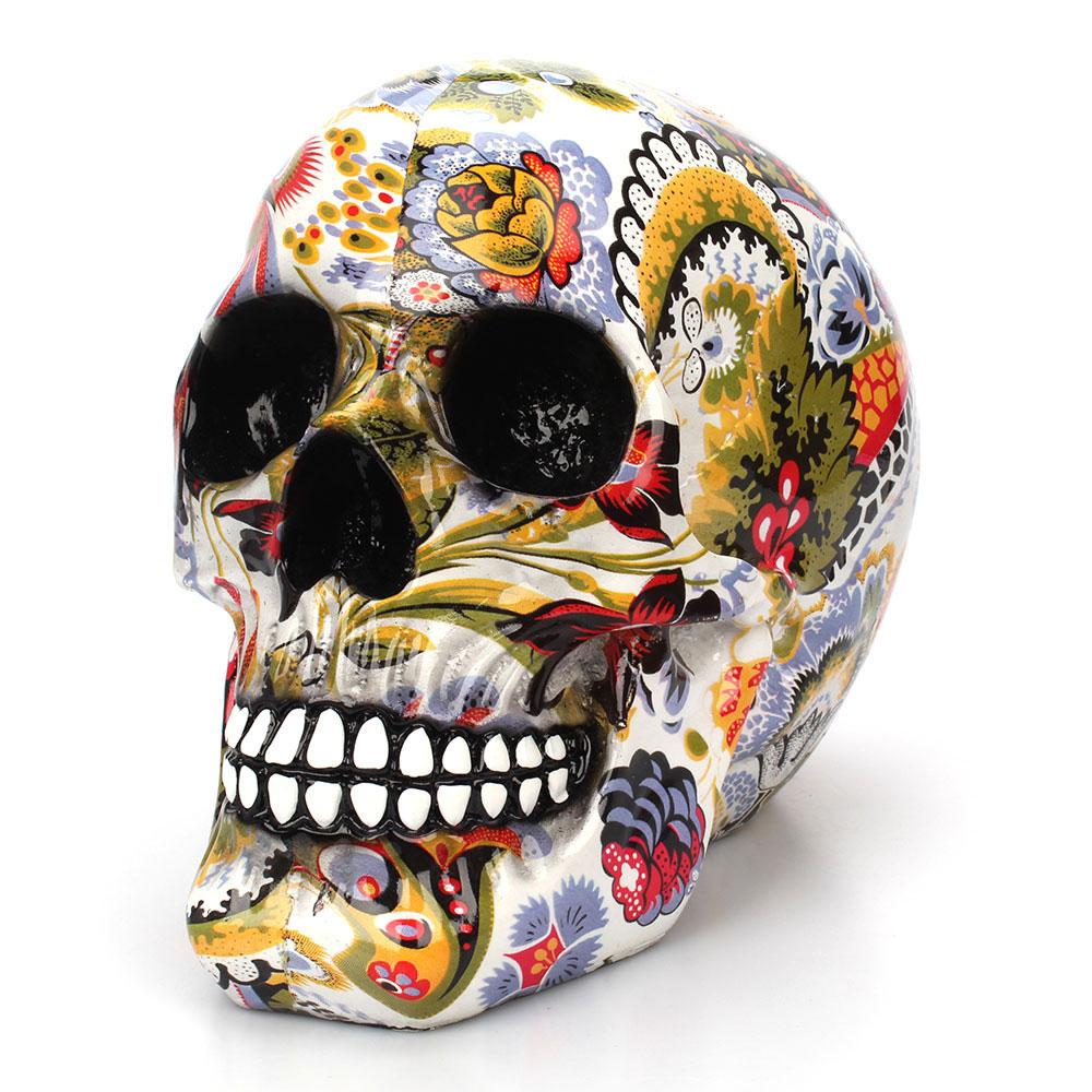 Calavera de resina de esqueleto humano 2