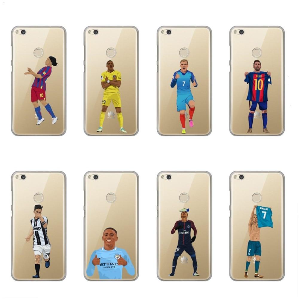 online retailer d0930 685d0 US $1.85 40% OFF Pogba Dab Dele Alli Dybala Neymar Cristiano Ronaldo Soft  TPU Phone Case Cover For Huawei Nova P8 lite 2017 P9 P10 Lite P10 Plus -in  ...
