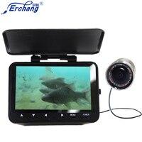2018 Новый Erchang 4,3 ''монитор HD 1000TVL подводный Камера для льда морской рыбалки Рыболокаторы в Камера s в английский