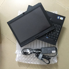 Diagnostic laptop X200t with 1tb hdd with Windows 7 system 4gb ram pen touch fit well for mb star c4/sd c5/ for b-mw icom a2 b c(China)