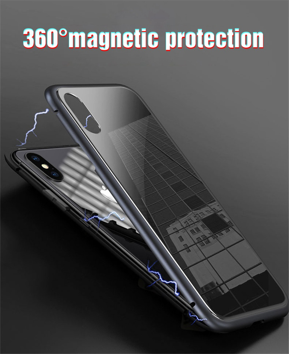 iphone x xs max Magnetic case 02