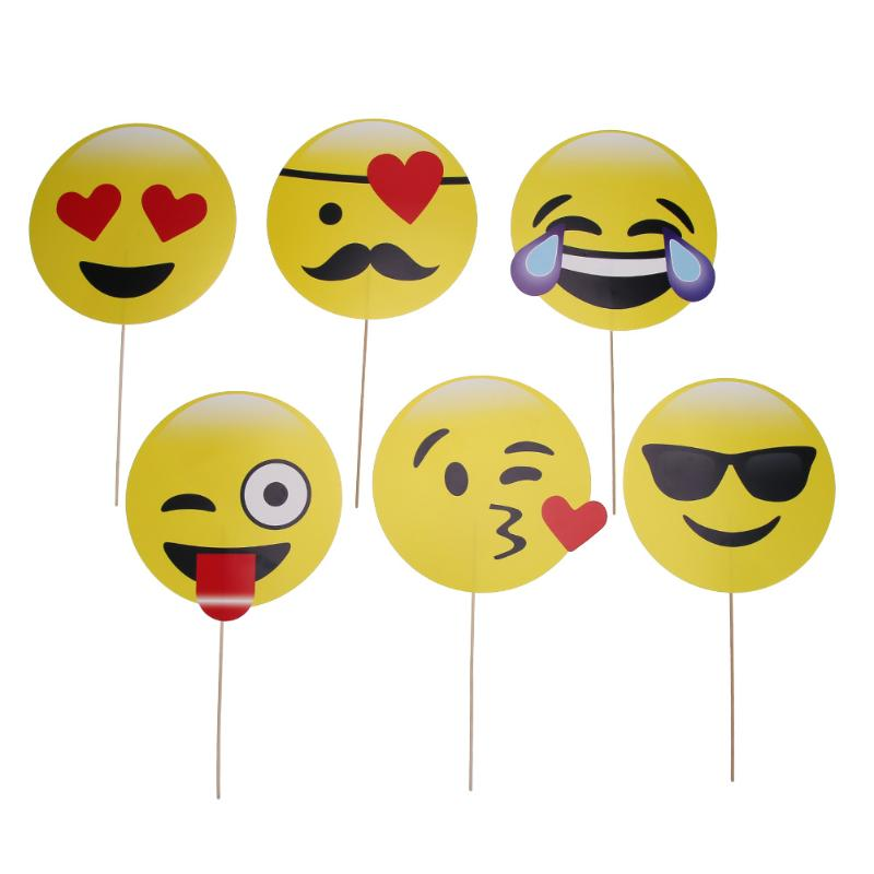 6 22pc Emoji Bride To Be Photo Booth Props Groom Birthday Wedding Decoration Photobooth Bridal Shower Event Party Supplies In From
