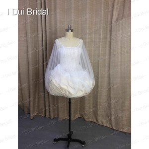Image 5 - One Size Fit All Bridal Petticoat Buddy Drop Shipping Wedding Dress Gather Skirt  Underskirt Save You From Toilet Water