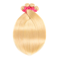 Brazilian Platinum Blonde Bundles Straight Remy Human Hair Extensions Blonde 613 Hair 8 28 Inch 1 Piece Or 3 Or 4 Bundles Deal