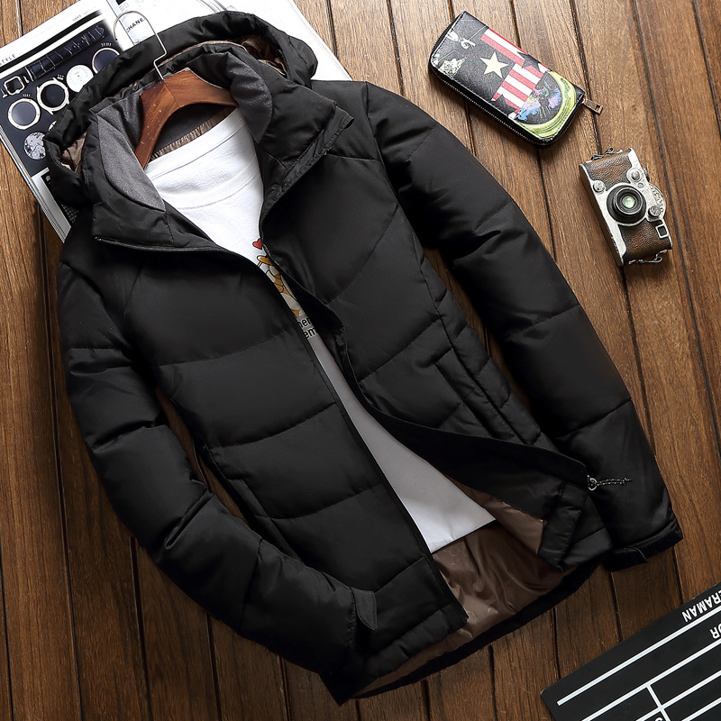 Good Quality White Duck Down Jacket Men Warm Hooded Mens Winter Parkas Thick Men's Jackets Down Coat Casaco Masculino