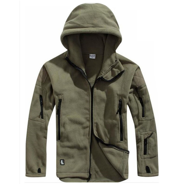Winter Tactical Jacket Military Uniform Soft Shell Fleece Hoody Jacket Men Thermal Clothing Casual Hoodies 3