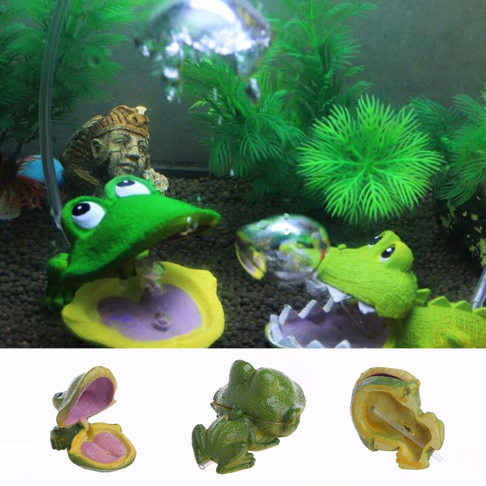 Large Aquarium Air Stone : Aquarium frog air bubble bubbling stone oxygen pump fish