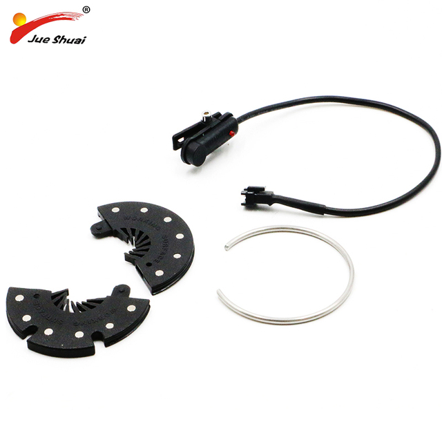 Freeshipping Elecrtic Bicycle Pedal Assist 12 Magnets PAS System Speed Sensor Connect Motor Cycling Accessory Detachable Parts