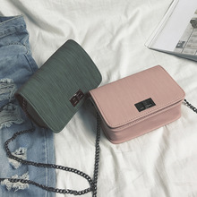 цены Fashion single shoulder Messenger bag female summer small bag trend new Korean version of the wild chain lock small square bag M
