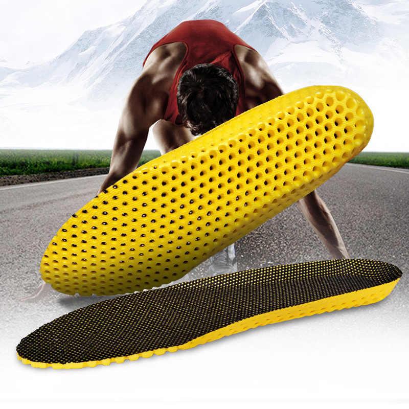 男性女性靴ストレッチ通気性消臭ランニングクッションインソール足整形外科パッド低反発インソール