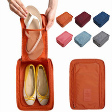 Convenient Travel Storage Bag for Shoes Oxford 6 Colors Portable Bags Organizer Sorting Pouch Multifunction