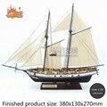 НОВЫЙ Ассамблеи Модель комплекты Классическая деревянная модель парусника HARVEY1847 шкала деревянная модель