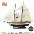 NEW  Assembly Model kits Classical wooden sailing boat model HARVEY1847 scale wooden model