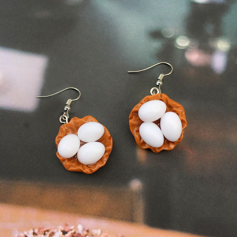 Egg Earrings 3