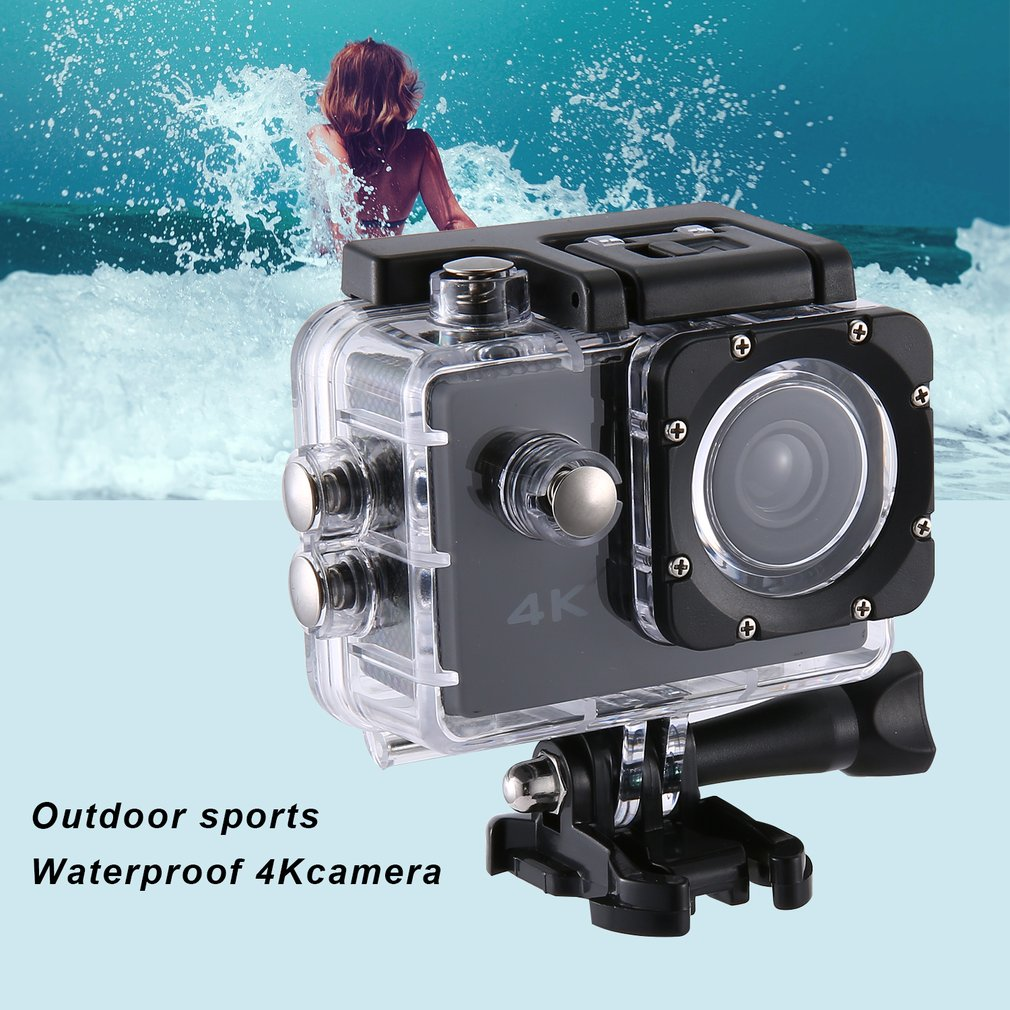 SJ Camera 4K 2.0 inch LCD Screen Diving 30m Waterproof Cam Extreme Sports DV 1080p Motorcycle Car Outdoor Sports