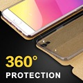 oppo f1 plus back cover flip luxury matte leather f1plus case soft slim tpu silicon for oppo mofi original smart case wake up