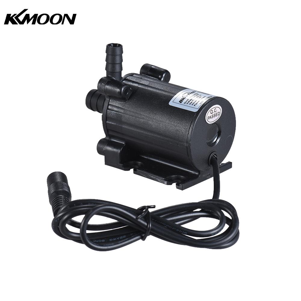 цена на Compact Size Dual-Outlet Submersible Brushless Oil Water Pump Ultra-quiet Max. Lift 7M 600L/H DC 12/24V for Fish Tank Aquarium
