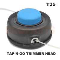 T35 Auto Feed Tap Head Trimmer 10mm Two Dual Line 531300194 M10X1 25 LH