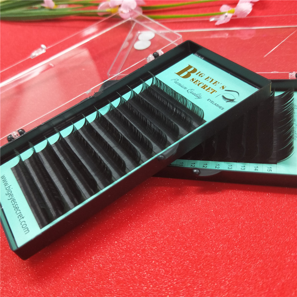 Promotions price 7~15mm MIX ,12rows/tray mink eyelash extension,natural eyelashes,individual eyelashes,false eyelash
