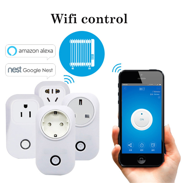 Smart Home Charging Adapter Wireless Smart Switch WIFI home ...