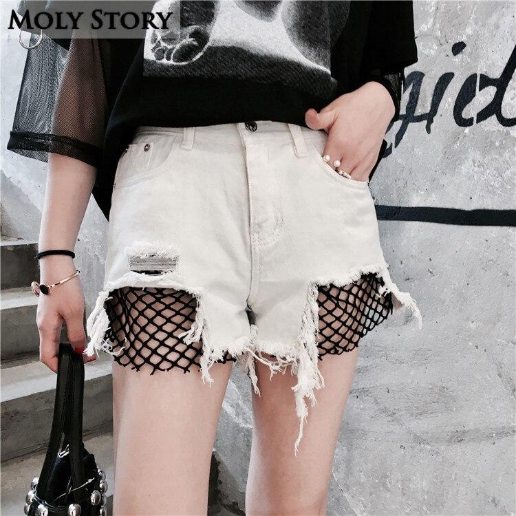 Online Get Cheap White Denim Cutoff Shorts -Aliexpress.com ...