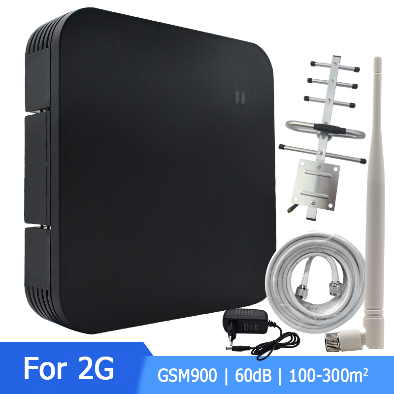 Mobile Phone Signal Amplifier Repeater GSM Signal Booster GSM Signal Repeater Cell Phone GSM 900MHZ Signal Amplifier Set *