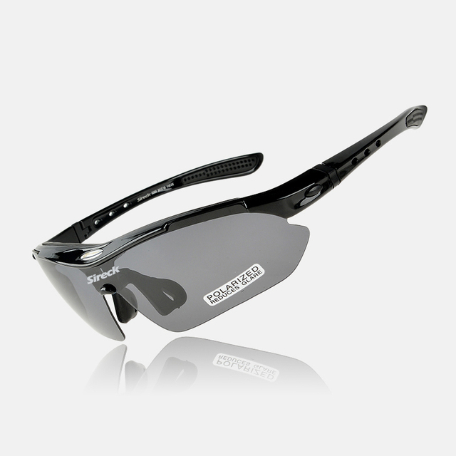 Sireck UV400 Polarized Outdoor Safety Sport Glasses _Hiking&Cycling Sunglasses